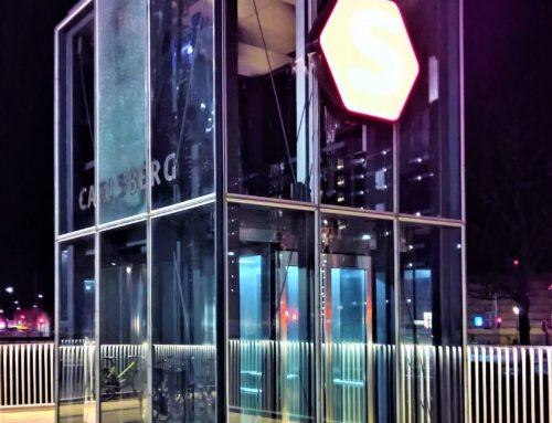 Carlsberg elevator